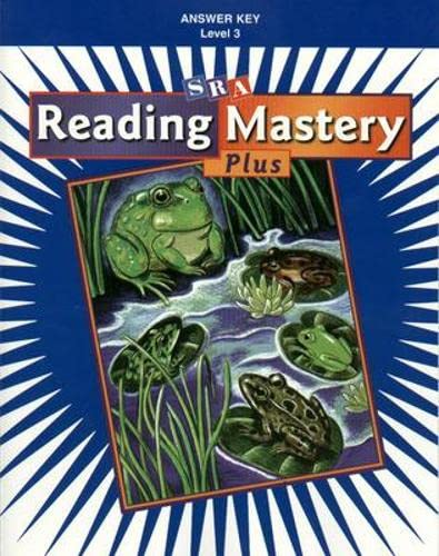 9780075691297: Reading Mastery Plus Level 3 Answer Key
