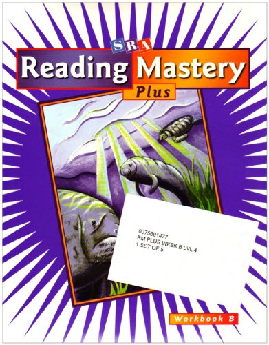 9780075691471: Reading Mastery Plus: Workbook B, Package of 5, Grade 4