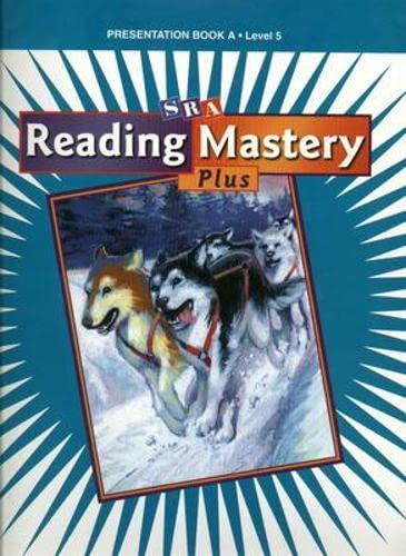 9780075691570: Reading Mastery 5 2001 Plus Edition: Presentation Book A