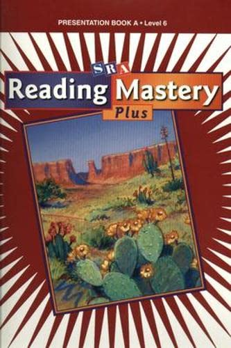 Reading Mastery 2001: Presentation Book A (Hardback): McGraw-Hill Education