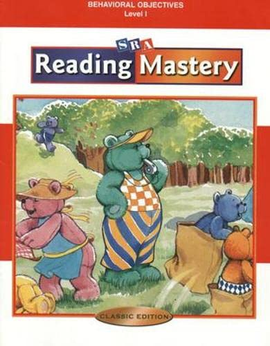 9780075692683: Reading Mastery Classic - Behavioral Objectives - Level 1