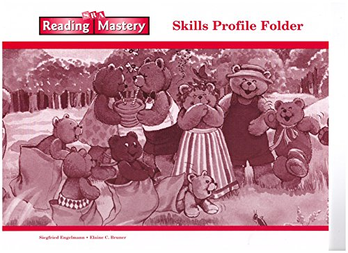 9780075692737: SRA Reading Mastery Skills Profile Folder