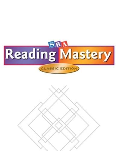 9780075692805: Reading Mastery Classic - Takehome Workbook A - Level 1