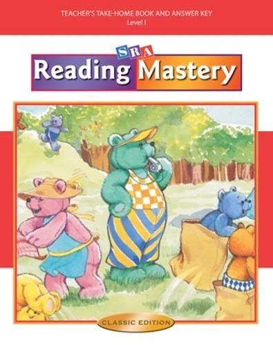 9780075692850: Reading Mastery I 2002 Classic Edition - Teacher Edition Take-home Books