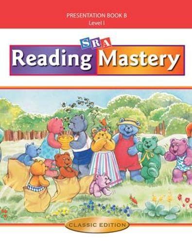SRA Reading Mastery, Level 1: Presentation Book: ENGELMANN ET AL.