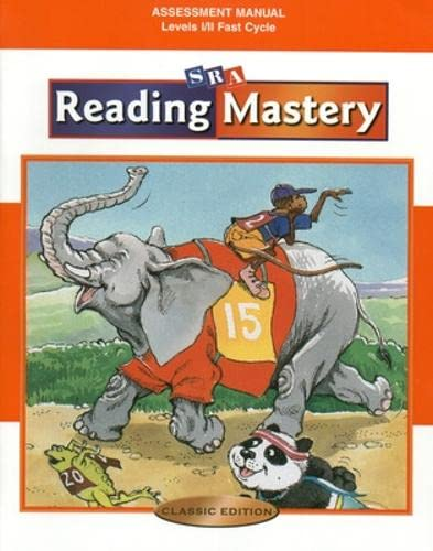9780075692904: Reading Mastery: Assessment Manual, Levels 1-2: Fast Cycle, Classic Edition