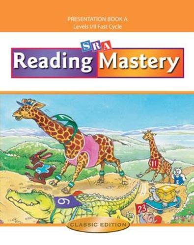 9780075693123: Reading Mastery Fast Cycle: Teacher Presentation Book A, Levels 1/2 Fast Cycle