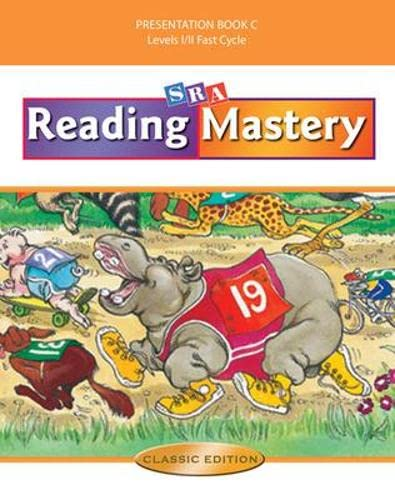 9780075693147: Reading Mastery Fast Cycle: Teacher Presentation Book C, Levels 1/2 Fast Cycle