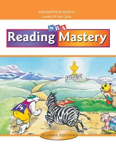 9780075693154: Reading Mastery Fast Cycle 2002 Classic Edition, Teacher Presentation Book D (READING MASTERY CLASSIC)
