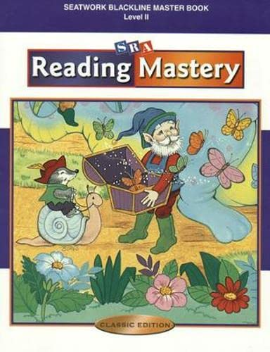 9780075693215: Reading Mastery Classic - Blackline Masters Seatwork - Level 2