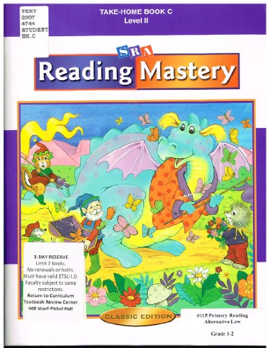 9780075693314: SRA Reading Mastery Take-Home Book C Level II