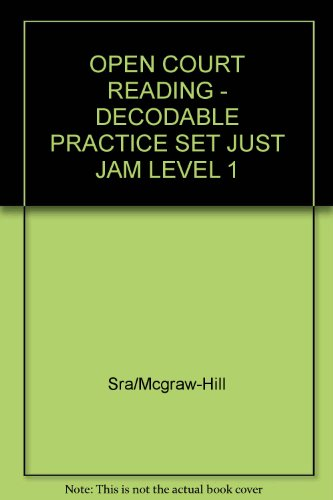 Just Jam: Decodable Practice Set Level 1: WrightGroup/McGraw-Hill