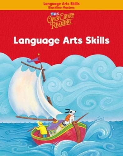 9780075695295: Open Court Reading - Language Arts Skills Blackline Masters - Grade K
