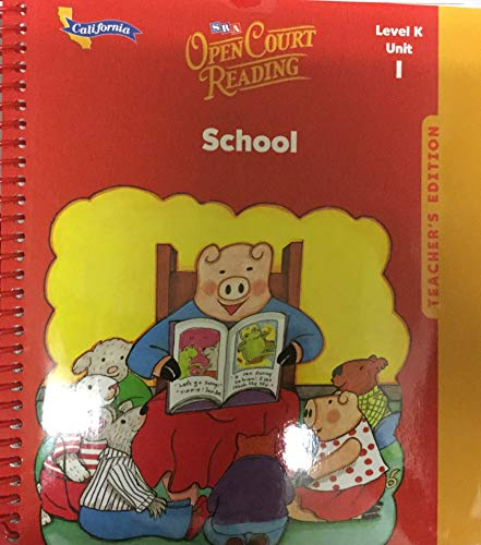 9780075695875: Open Court Reading: California Teacher Edition Unit 1 Level K