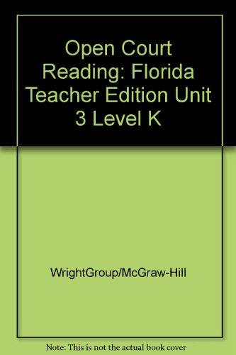9780075695974: Open Court Reading Finding Friends Level K Unit 3 Florida Teachers Edition