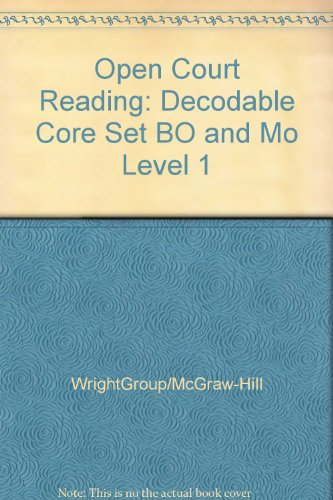 9780075697268: Bo and Mo: Decodable Core Set Level 1 (Open Court Reading)