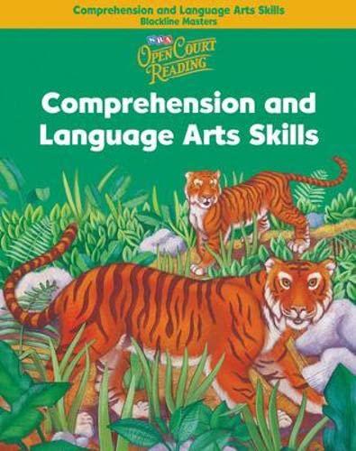 9780075702023: Open Court Reading - Comprehension and Language Arts Skills Blackline Masters - Grade 2