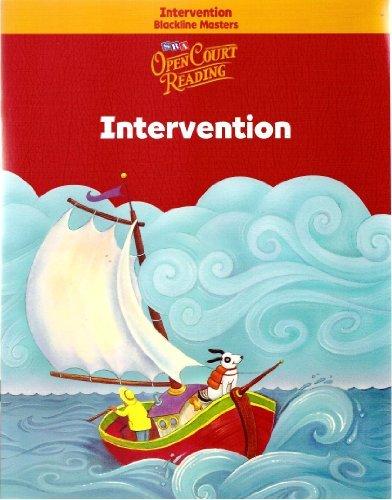 9780075708056: Open Court Reading - Intervention Blackline Masters - Grade K