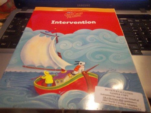 9780075708063: Open Court Reading - Intervention Workbook Annotated Teacher Edition - Grade K