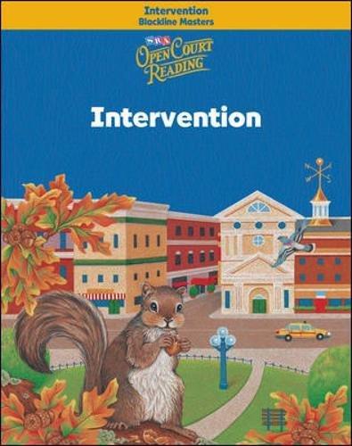 9780075708483: Open Court Reading - Intervention Blackline Masters - Grade 3