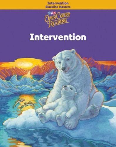9780075710448: Open Court Reading - Intervention Blackline Masters - Grade 4