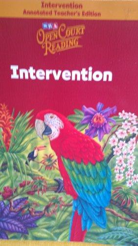 9780075710882: Open Court Reading - Intervention Workbook Annotated Teacher's Edition - Grade 6