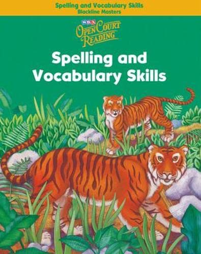 9780075711018: Open Court Reading - Spelling and Vocabulary Skills Blackline Masters - Grade 2