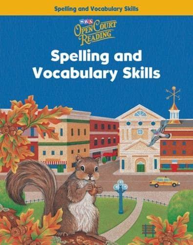 9780075711025: Open Court Reading Grade 3: Spelling and Vocabulary Skills Workbook