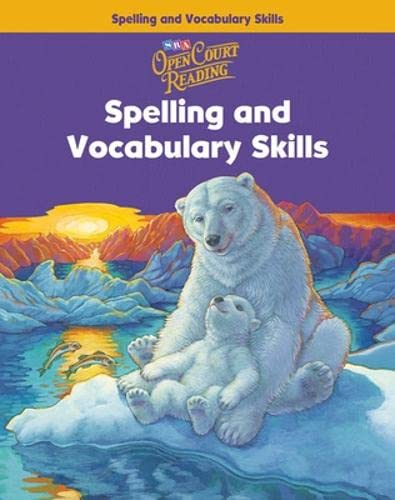 9780075711056: Open Court Reading: Spelling and Vocabulary Skills Workbook, Grade 4 (Imagine it)