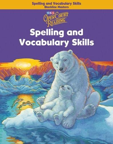 9780075711117: Open Court Reading - Spelling and Vocabulary Skills Blackline Masters - Grade 4