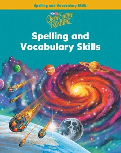 Open Court Reading: Spelling And Vocabulary (IMAGINE: Education, McGraw-Hill