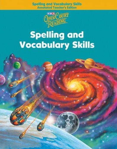 Open Court Readingspelling and Vocabulary Skills Annotated: McGraw Hill/SRA
