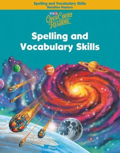 9780075711148: Open Court Reading - Spelling and Vocabulary Skills Blackline Masters - Grade 5