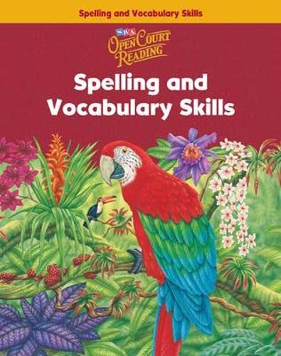 9780075711155: Open Court Reading Grade 6 Spelling and Vocabulary Skills