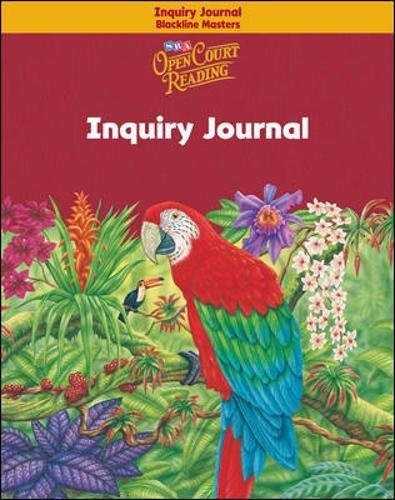 Open Court Reading - Inquiry Journal Blackline: Sra/Mcgraw-Hill