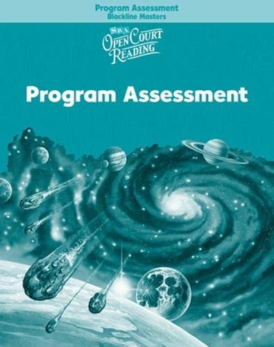 9780075712435: Open Court Reading - Program Assessment Blackline Masters - Grade 5