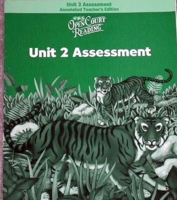 9780075713791: Open Court Reading: Unit 1 Assessment Annotated Teacher Edition Level 2