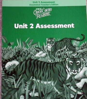 9780075713807: Open Court Reading: Unit 2 Assessment Annotated Teacher Edition Level 2