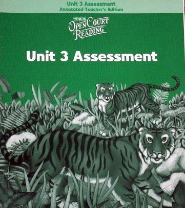 9780075713814: Open Court Reading: Unit 3 Assessment Annotated Teacher Edition Level 2