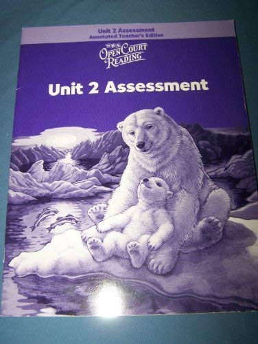 9780075713821: Open Court Reading: Unit 4 Assessment Annotated Teacher Edition Level 2