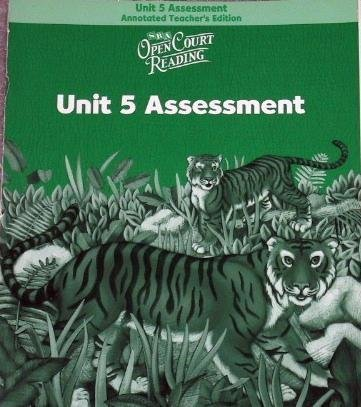 9780075713838: Open Court Reading: Unit 5 Assessment Annotated Teacher Edition Level 2