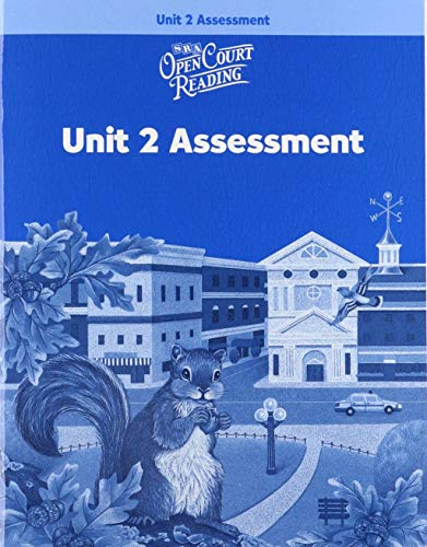 9780075714231: Open Court Reading: Unit 2 Assessment Workbook Level 3