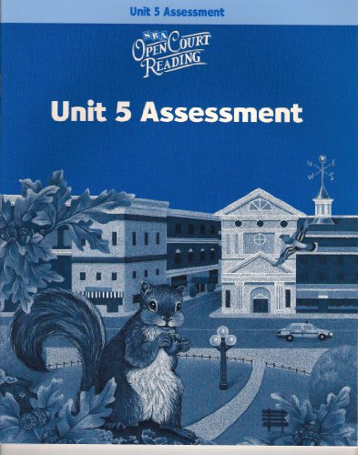 9780075714262: Open Court Reading: Unit 5 Assessment Workbook Level 3