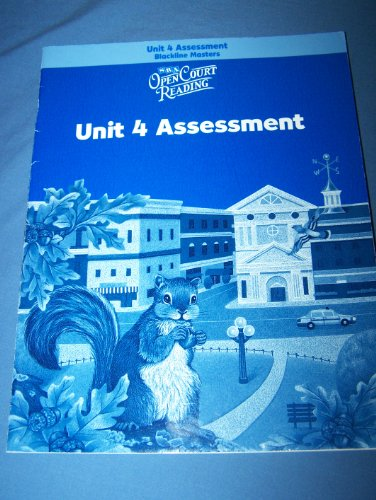 9780075715559: Open Court Reading: Unit 4 Assessment Blackline Masters Level 3