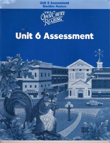 9780075715573: Open Court Reading: Unit 6 Assessment Blackline Masters Level 3