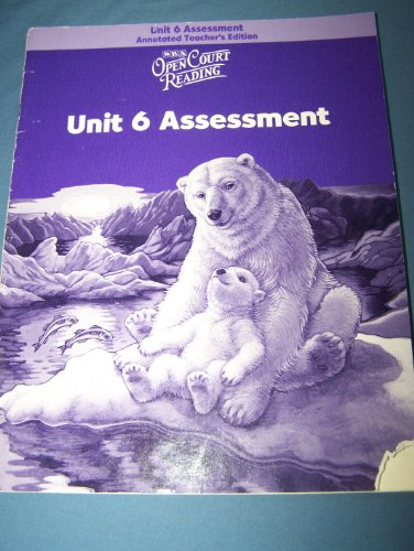 9780075715818: Open Court Reading: Unit 6 Assessment Annotated Teacher's Edition, Level 4