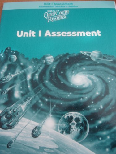 9780075716129: Open Court Reading: Unit 1 Assessment, Annotated Teacher's Edition, Level 5