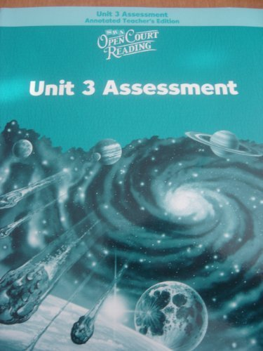 9780075716143: SRA: Open Court Reading, Unit 3 Assessment, Annotated Teacher's Edition, Level 5
