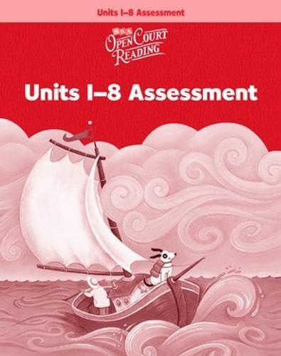 9780075716594: Open Court Reading - Assessment Workbook - Units 1-8 - Grade K