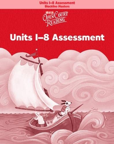 9780075716778: Open Court Reading - Unit Assessment Blackline Masters - Units 1-8 - Grade K